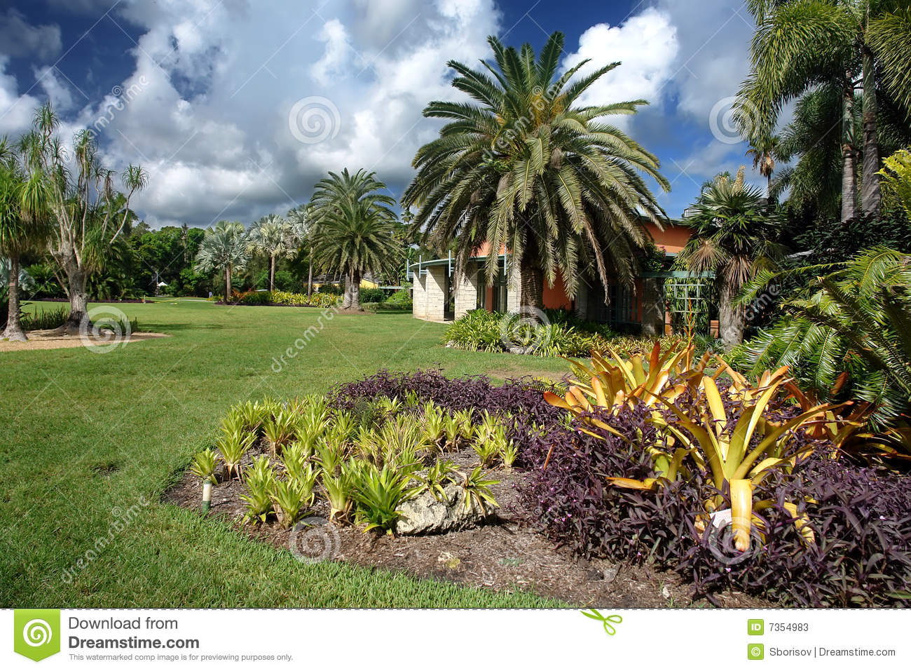 Fairchild Tropical Botanic Garden Stock Photos Image