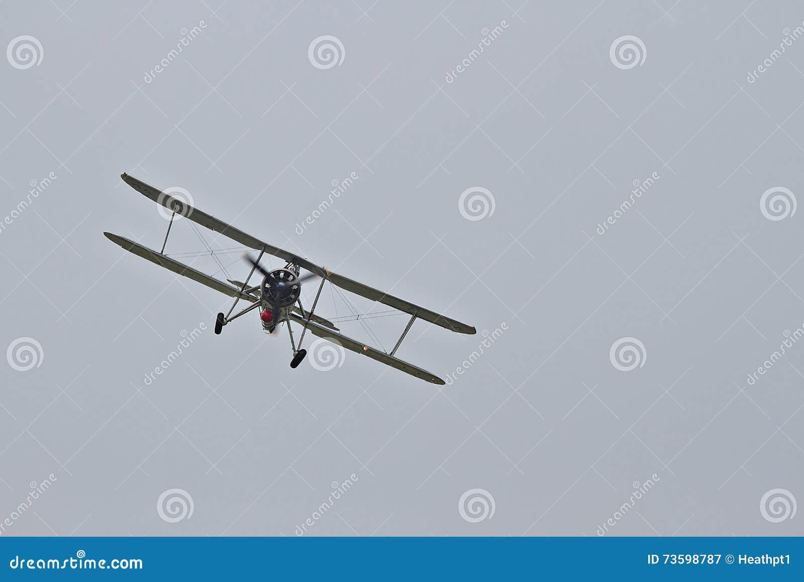 Fairey Swordfish przy Biggin wzgórzem Airshow