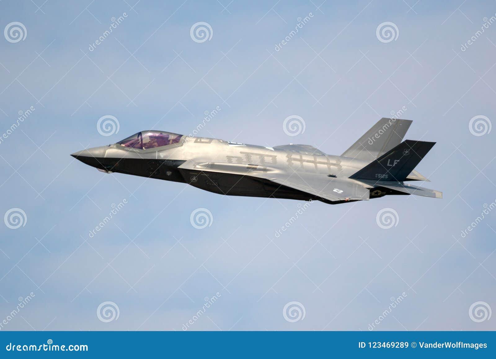 USAF F-35 fighter jet