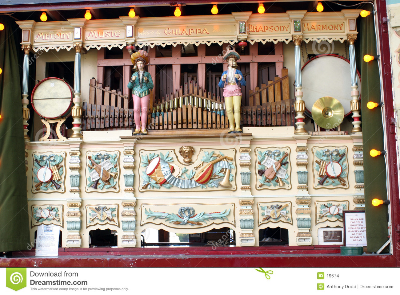 Fairground Music Organ