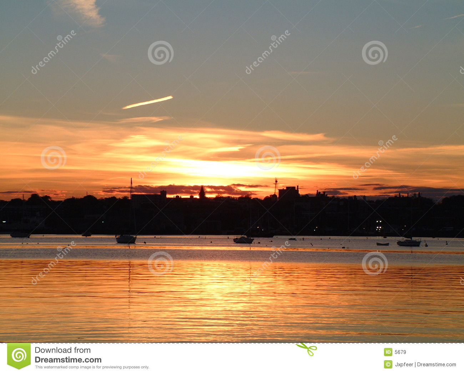Fairhaven Sonnenuntergang 2