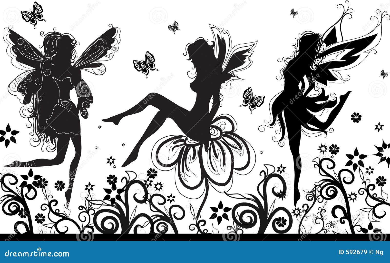 Fairies dance