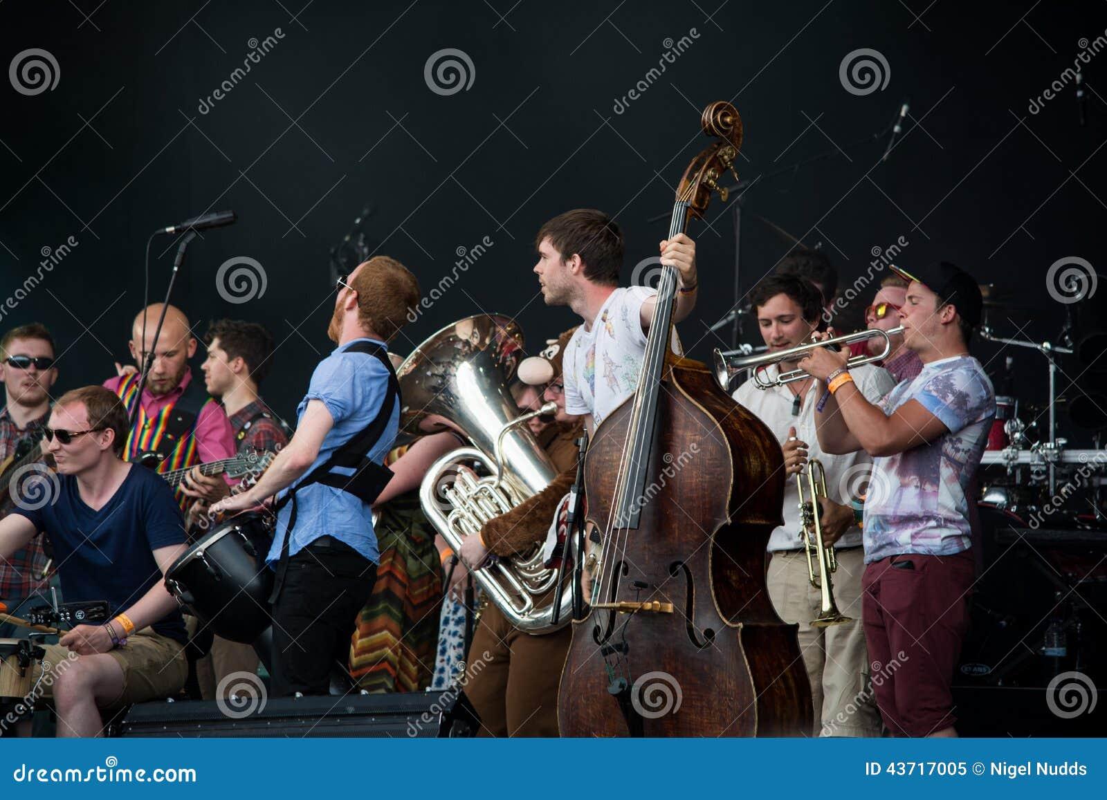 Fairport Cropredy Covention 2014 - Joe Broughton konserwatorium ludu zespół