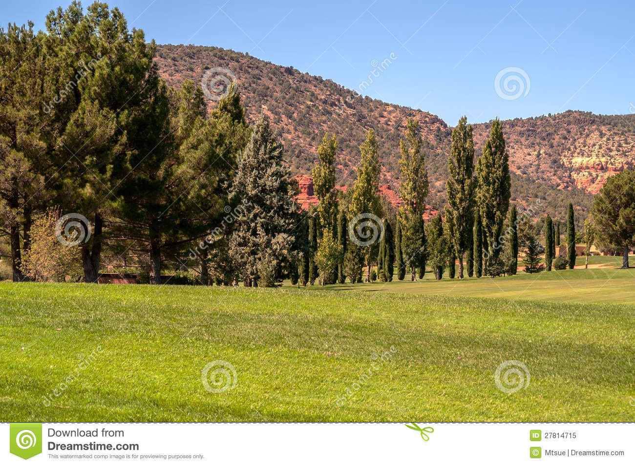 Fairway And Green Royalty Free Stock Photo Image 27814715