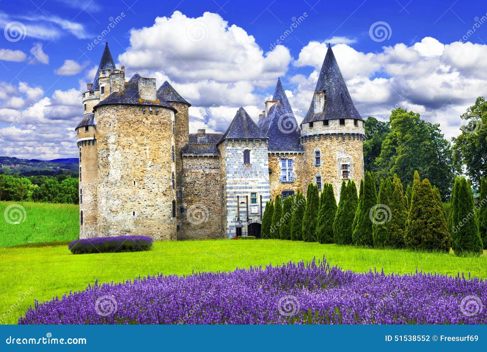 Fairy замки Франции