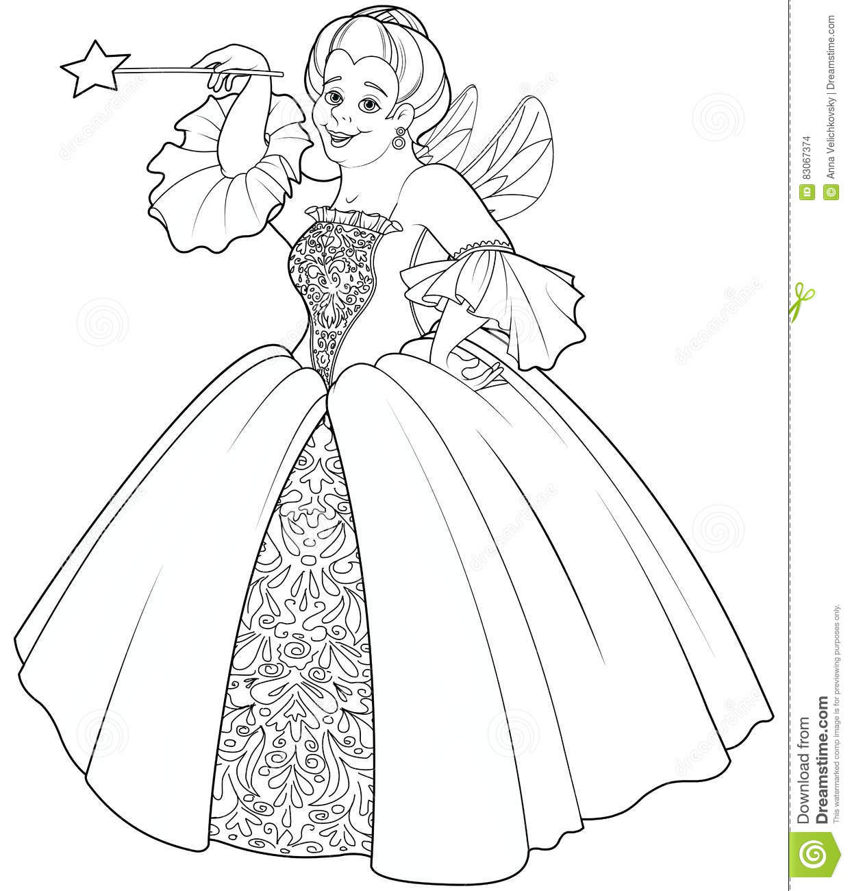 Royalty Free Vector Download Fairy Godmother