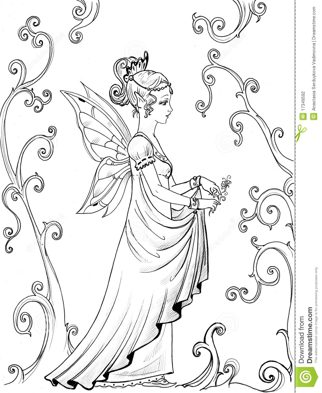 Fairy Princess Stock Photography Image 17349592