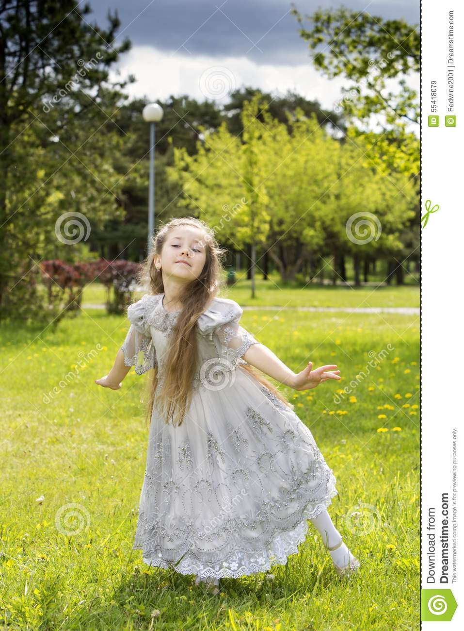 Fairy Ready To Fly Back To Wonderland Stock Image - Image of family