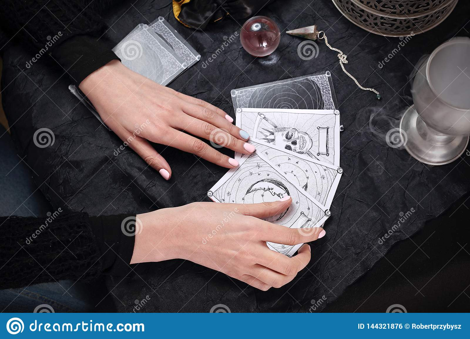 The Fairy Spreads The Tarot Cards, The Magical Meaning Of