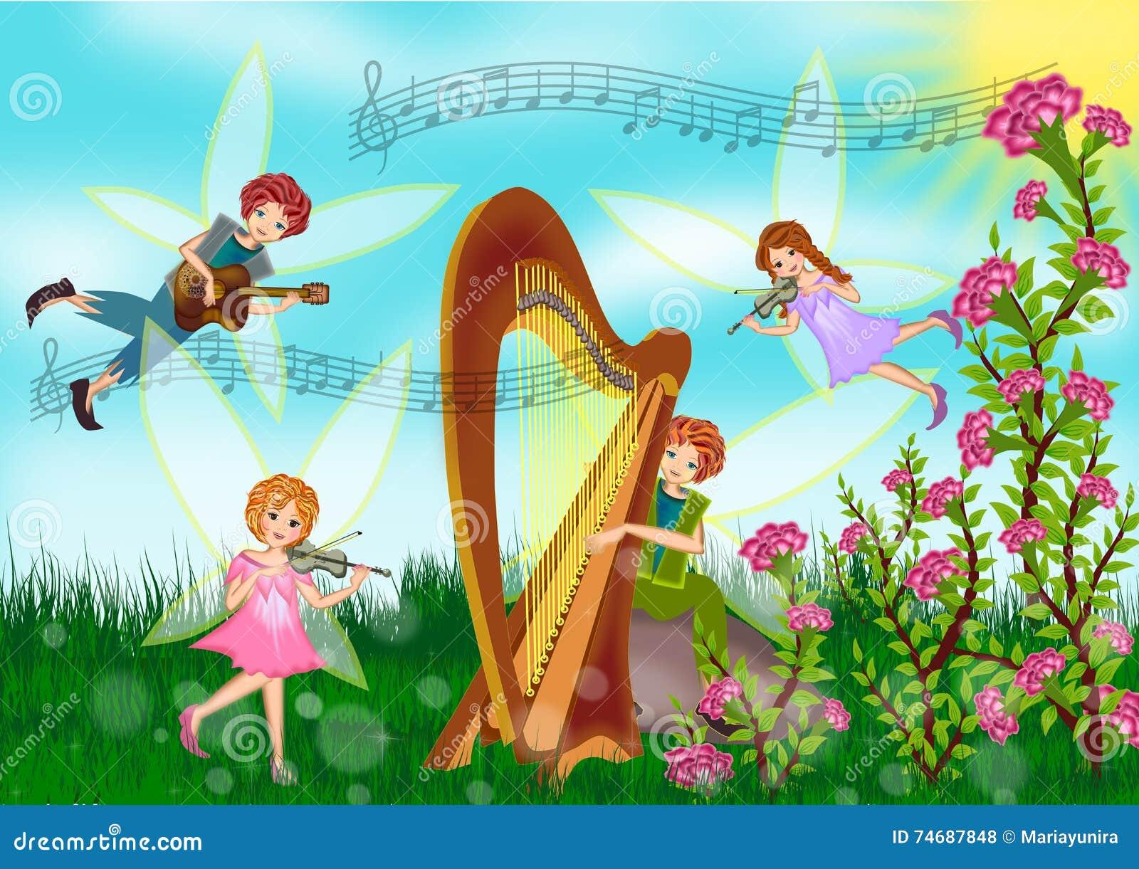 Fairy on summer time