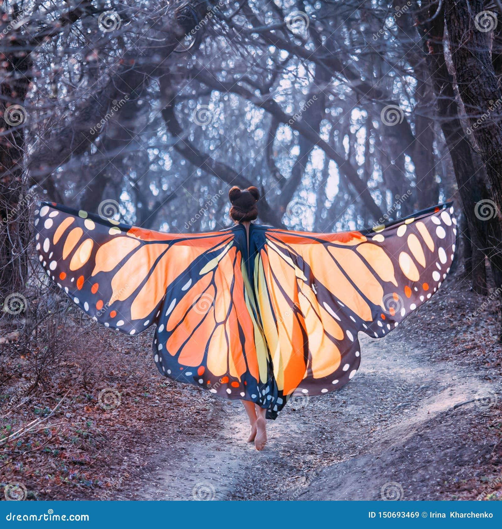 https://thumbs.dreamstime.com/z/fairy-tale-butterfly-mysterious-story-girl-red-hair-big-light-orange-wings-lady-walks-barefoot-along-fairy-tale-150693469.jpg
