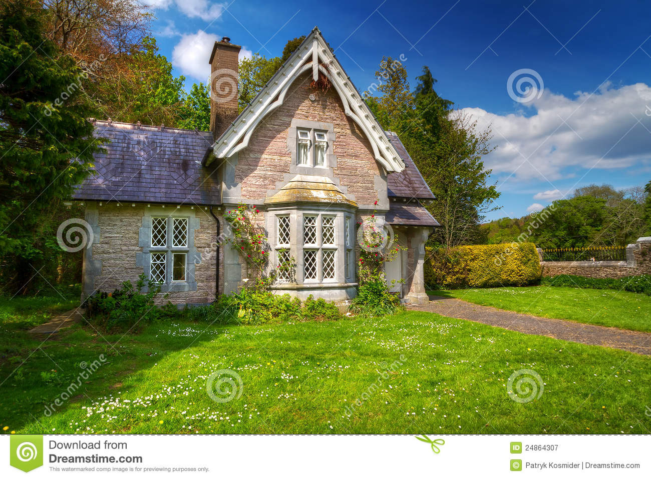 Fairy tale cottage house stock image image of fairy for The cottage house