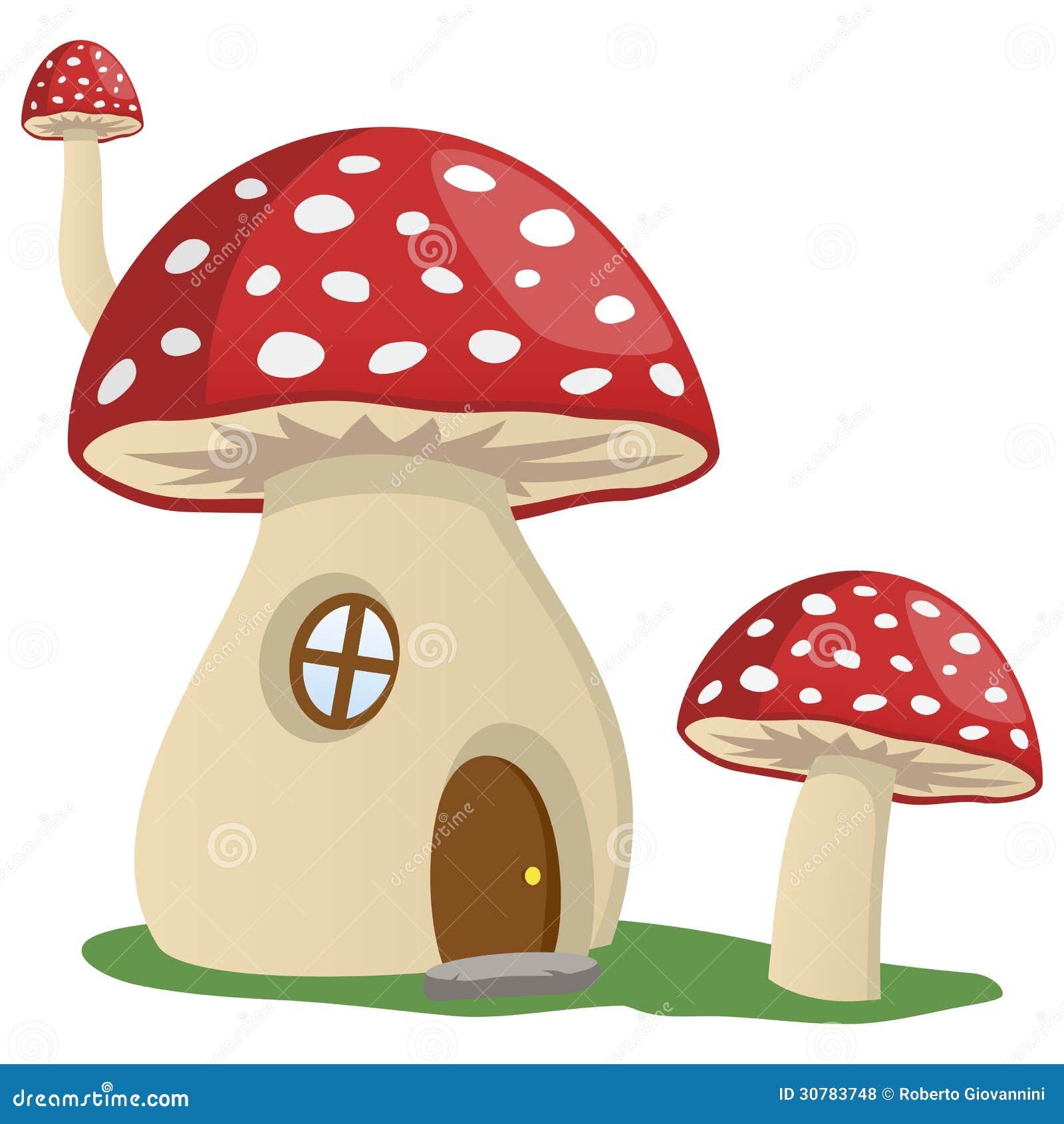 fairy tale mushroom house royalty free stock photos image 30783748