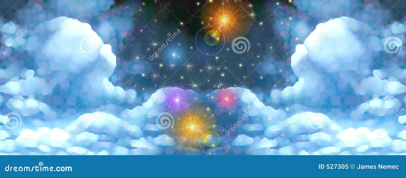 Fairy-tale sky