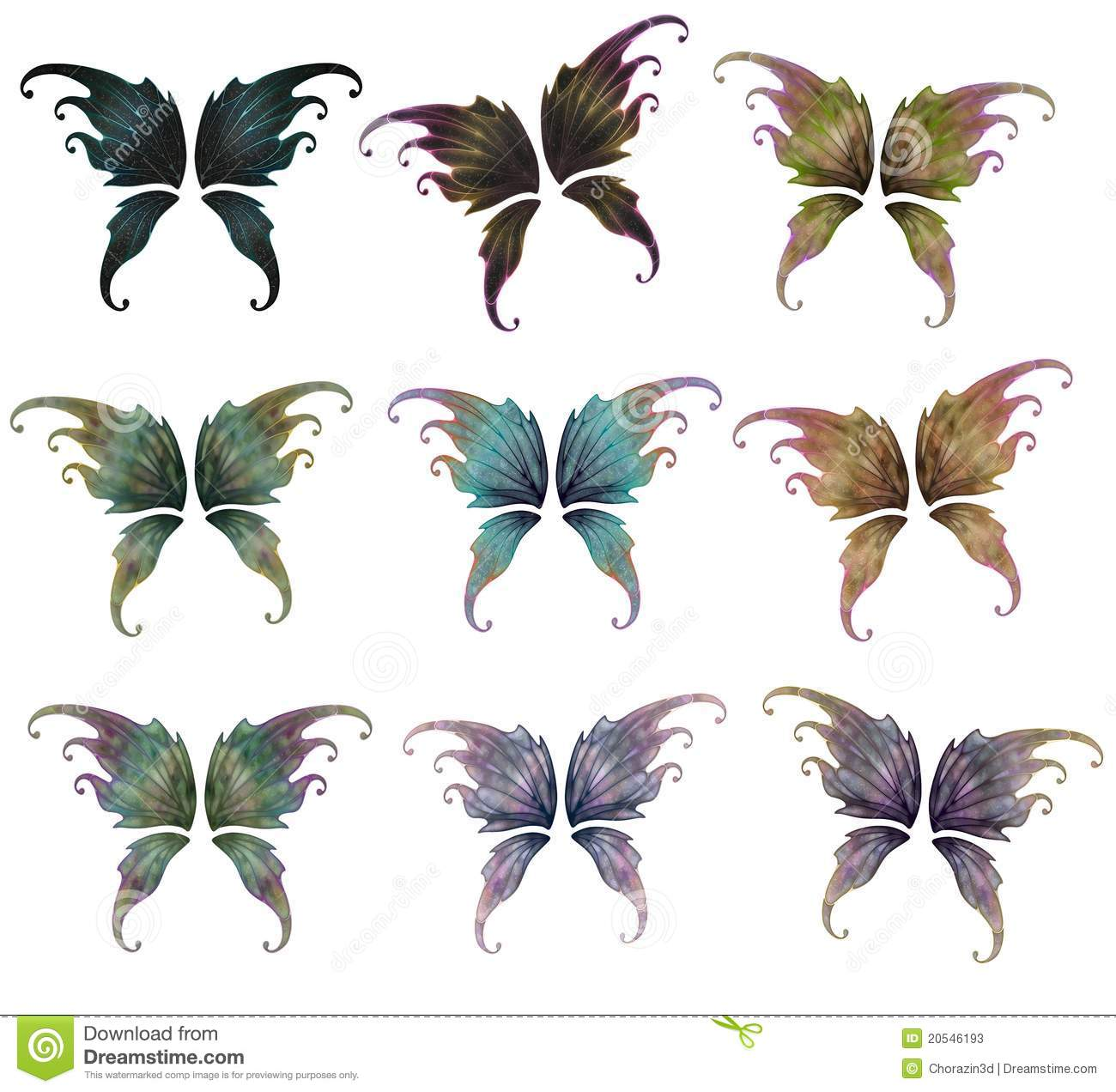 Fairy Wings Stock Photos - Image: 20546193