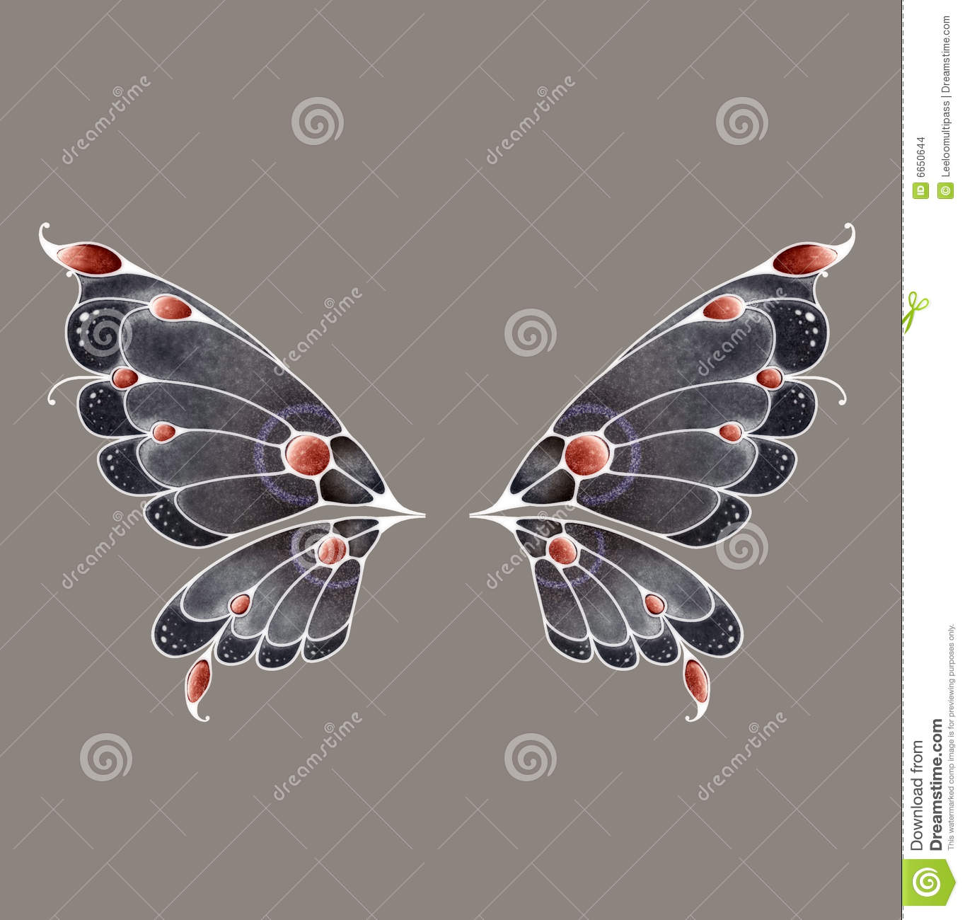 Download Fairy Wings stock illustration. Illustration of pose, magical - 6650644
