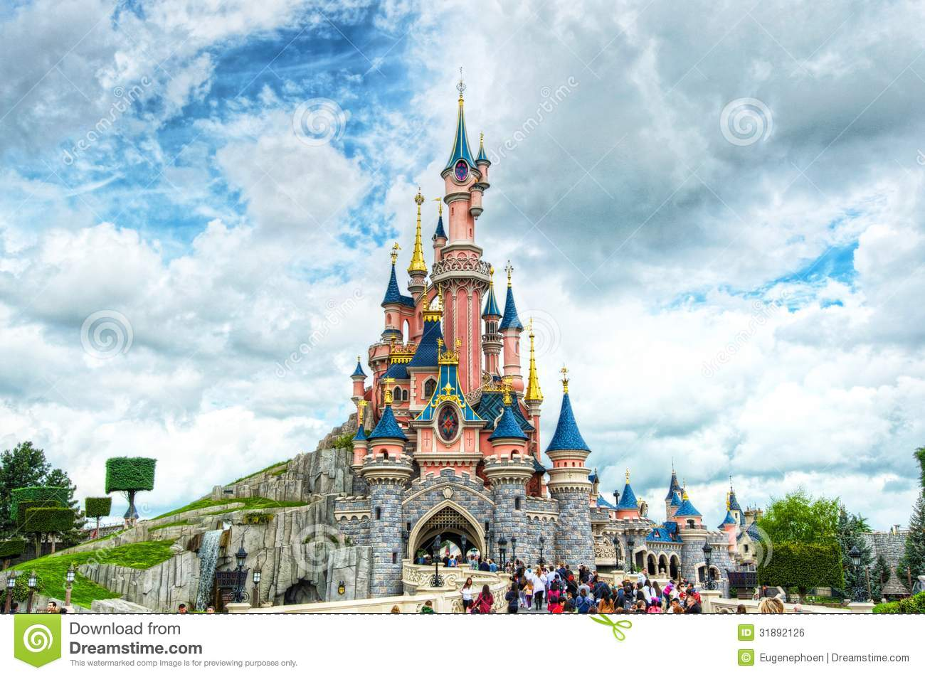 Fairytale Castle In France Editorial Photo Image 31892126