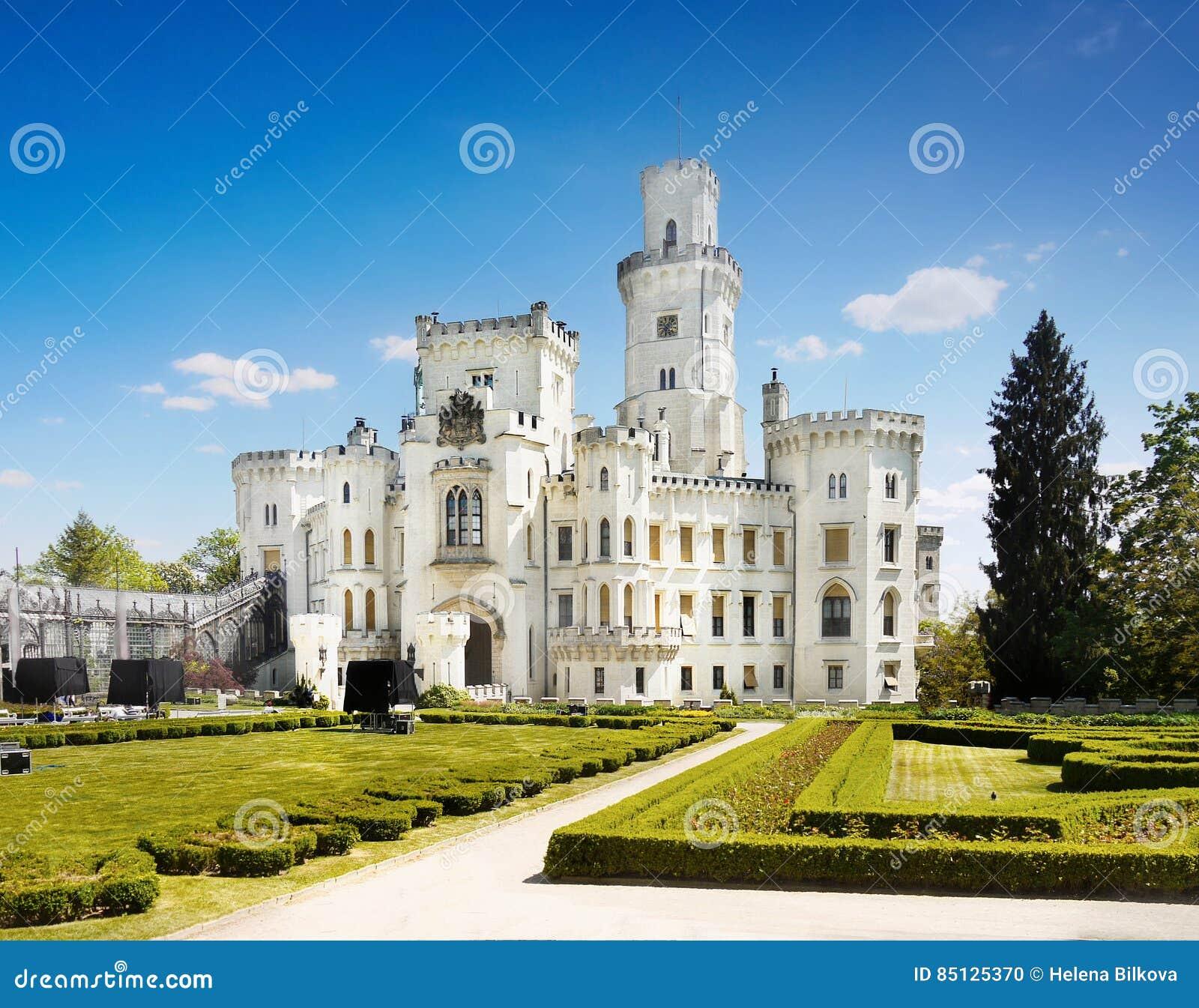 Fairytale Castle stock photo  Image of czech, garden - 85125370