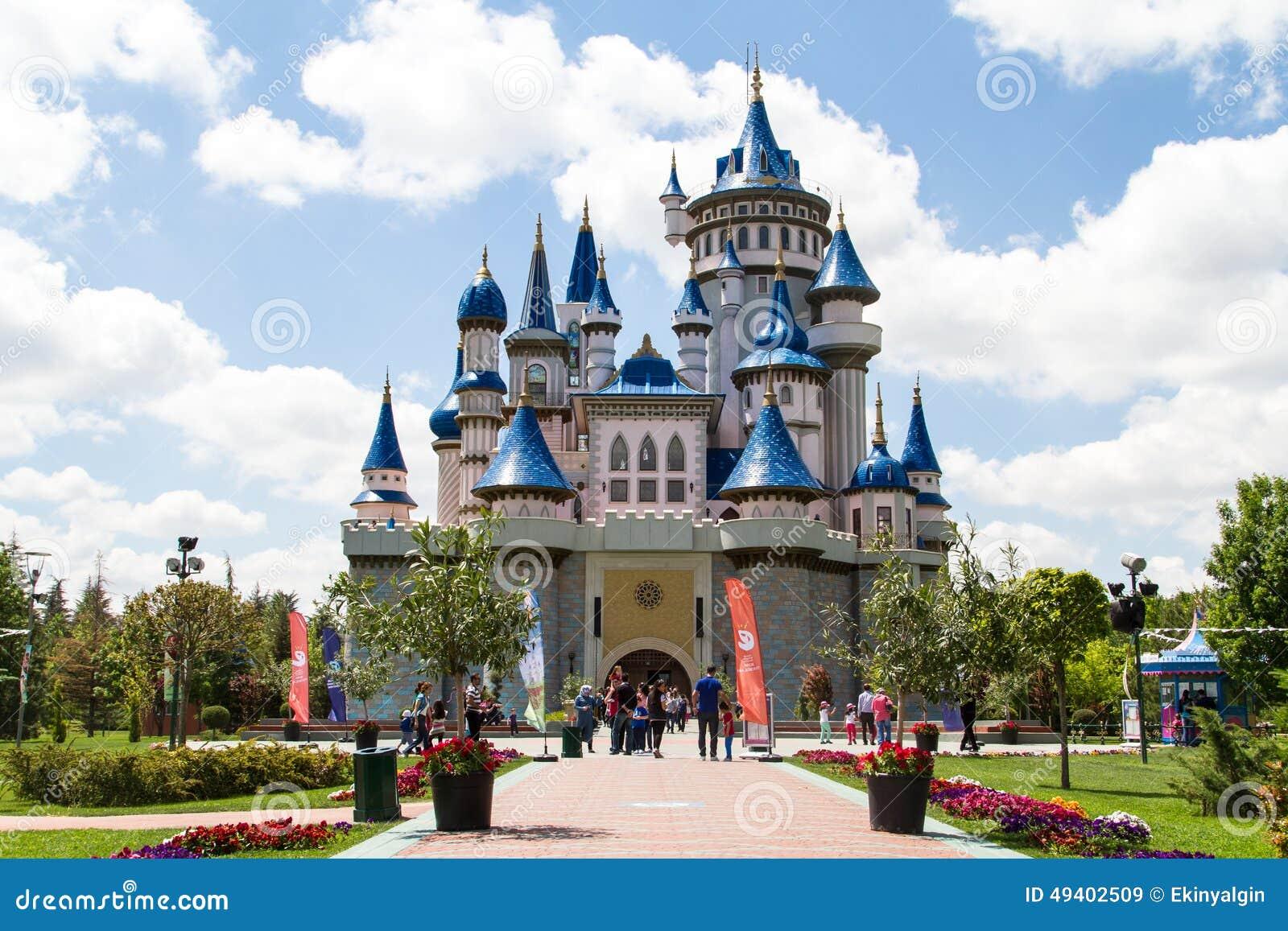 Eskisehir Turkey  City new picture : ESKISEHIR, TURKEY MAY 25, 2014: Fairytale castle in Sazova Park ...