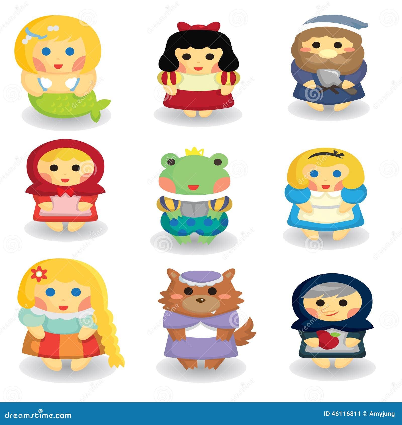 Fairytale Characters Stock Illustration - Image: 46116811