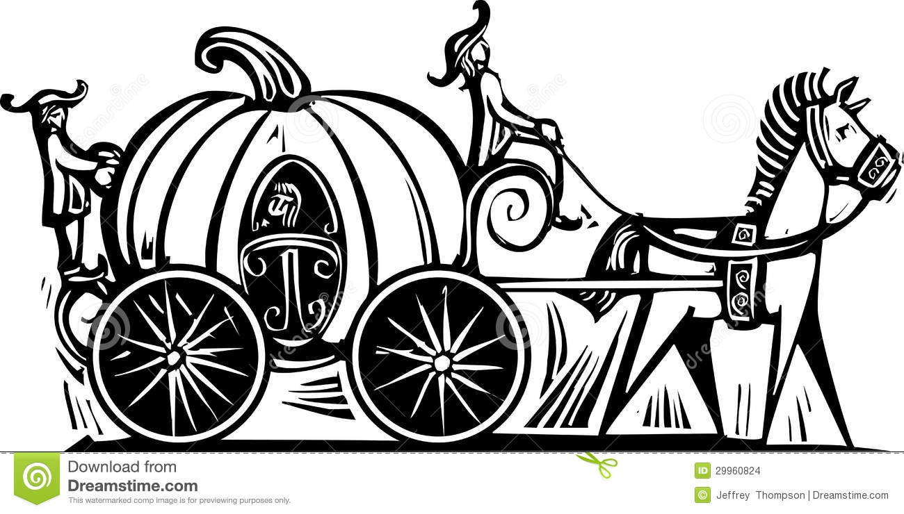 Cinderellas Carriage Stock Images Image 29960824
