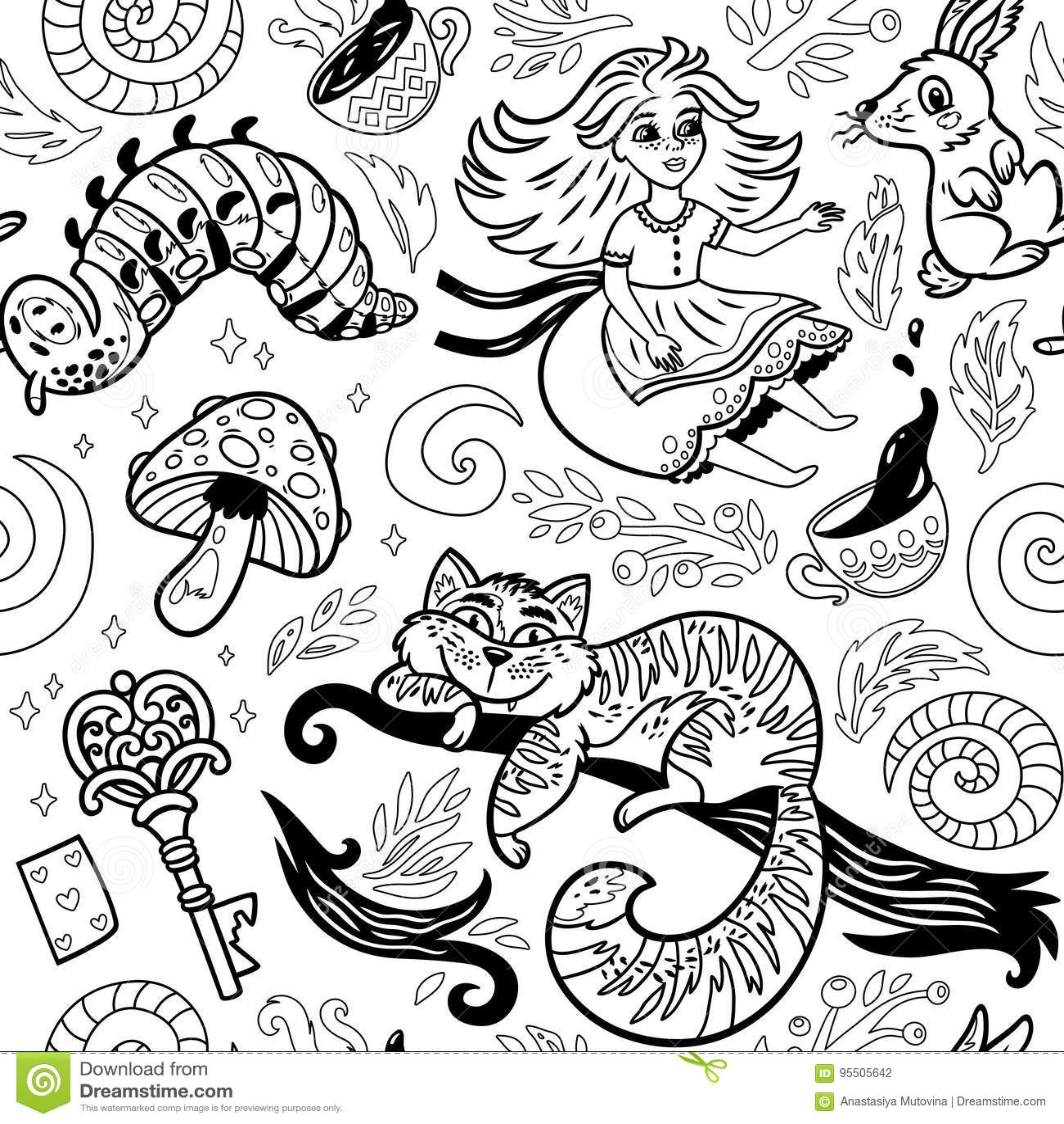 Alice in wonderland background story-3578