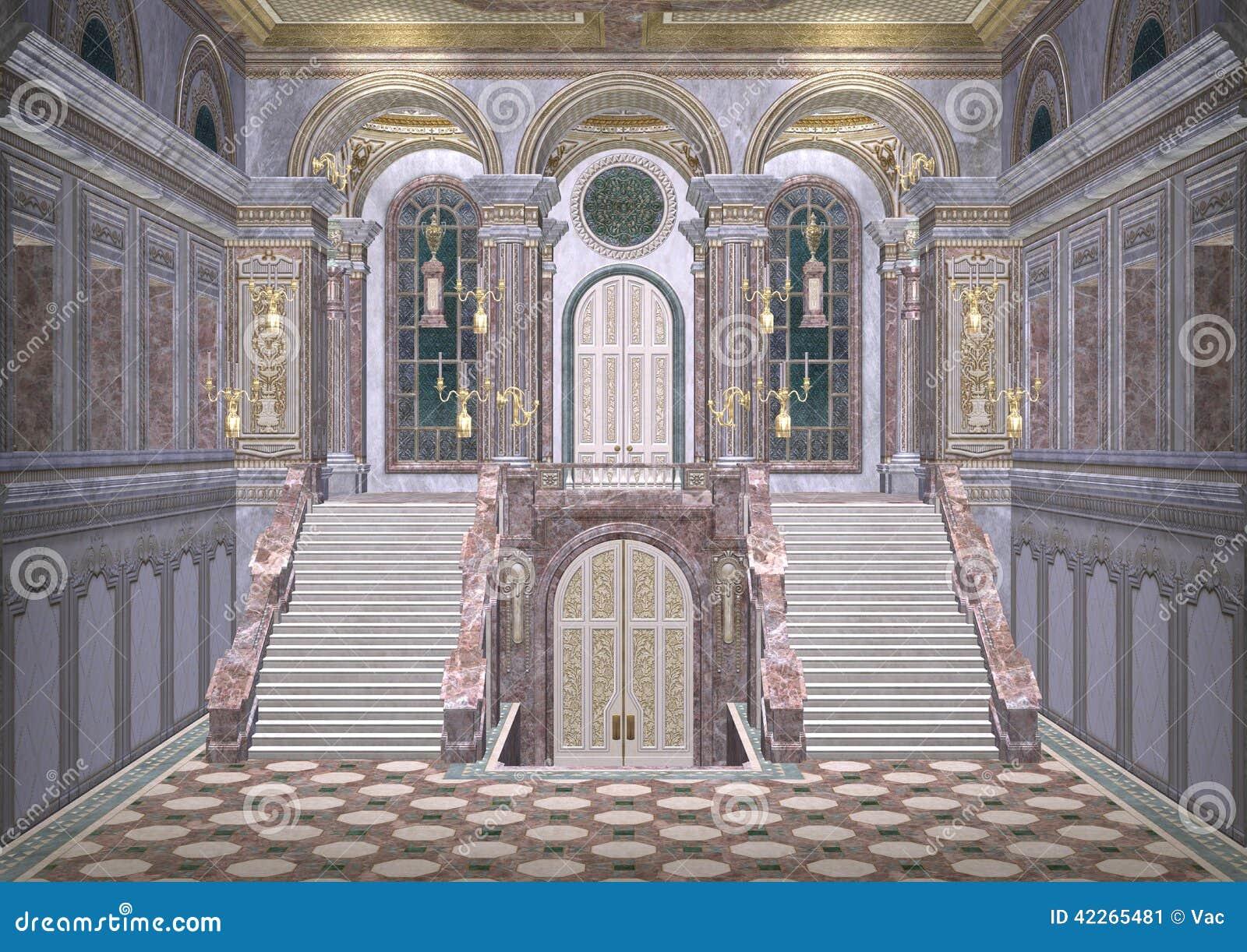 Fairytale Palace Stock Illustration Image 42265481
