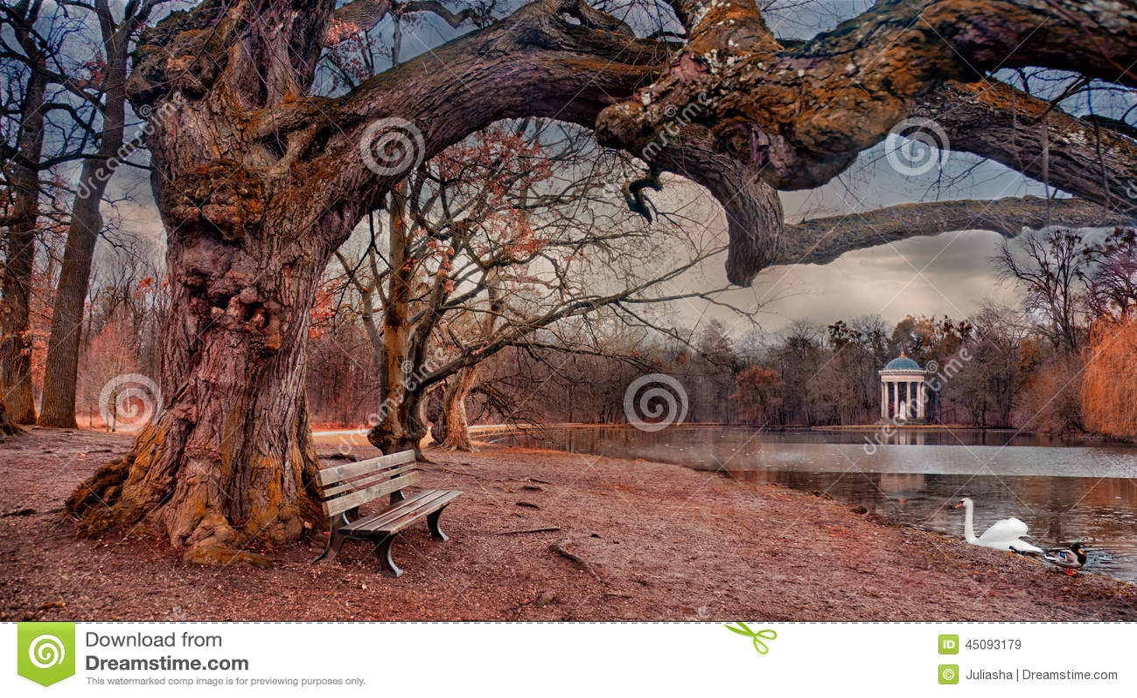 Fairytale tree in Nymphenburg