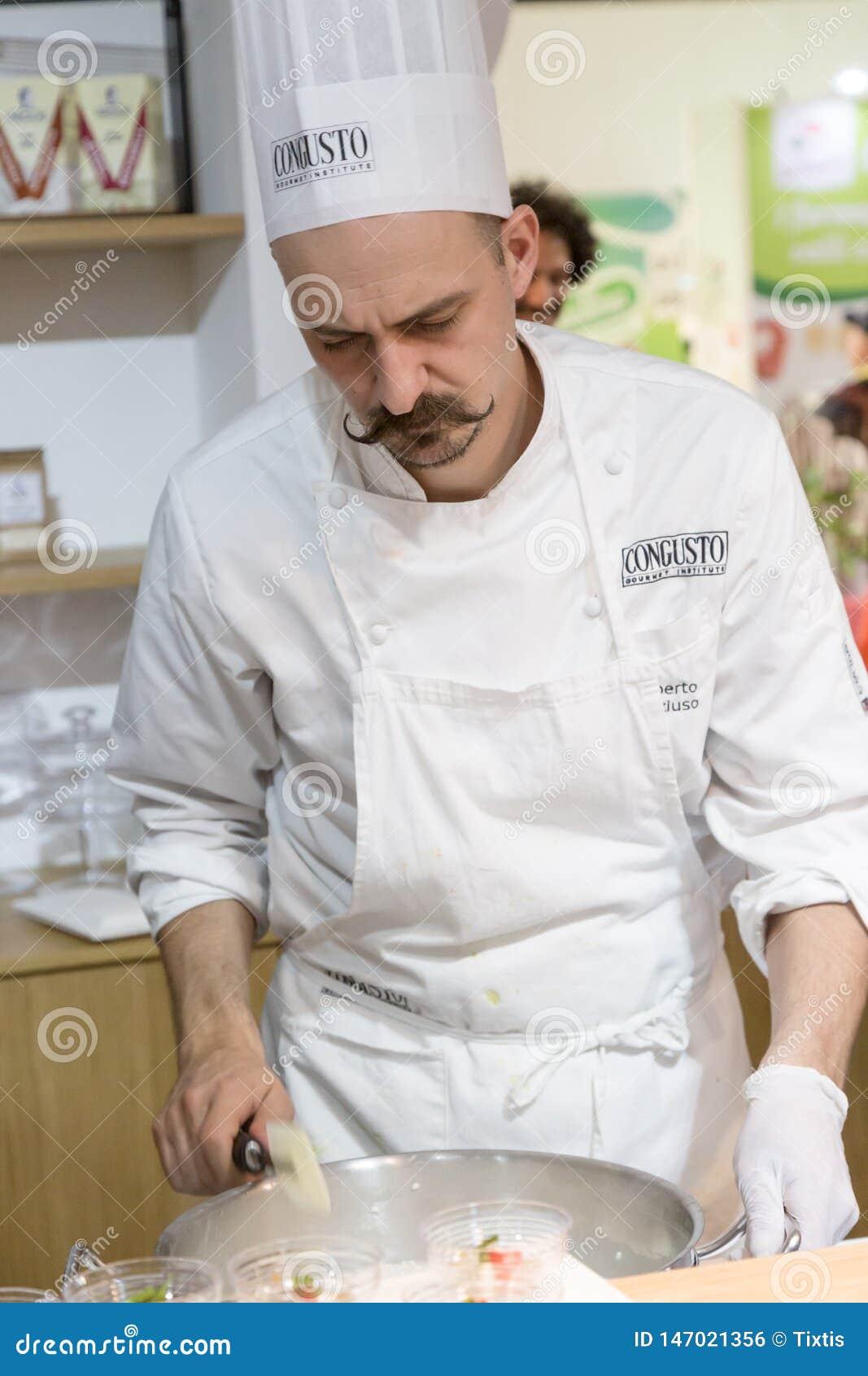 Faites cuire le travail chez Tuttofood 2019 ? Milan, Italie