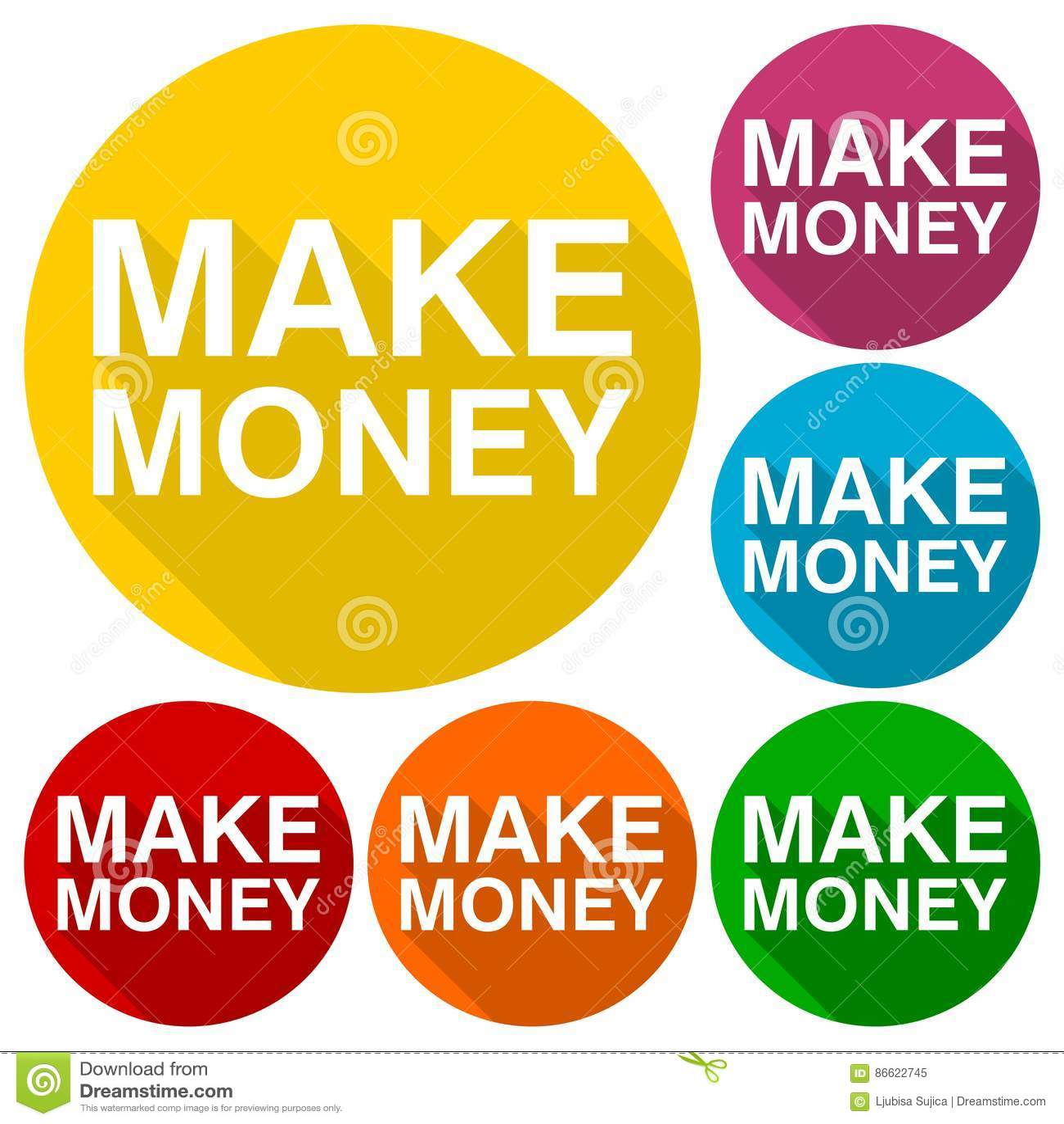 Faites les icônes d argent réglées avec la longue ombre