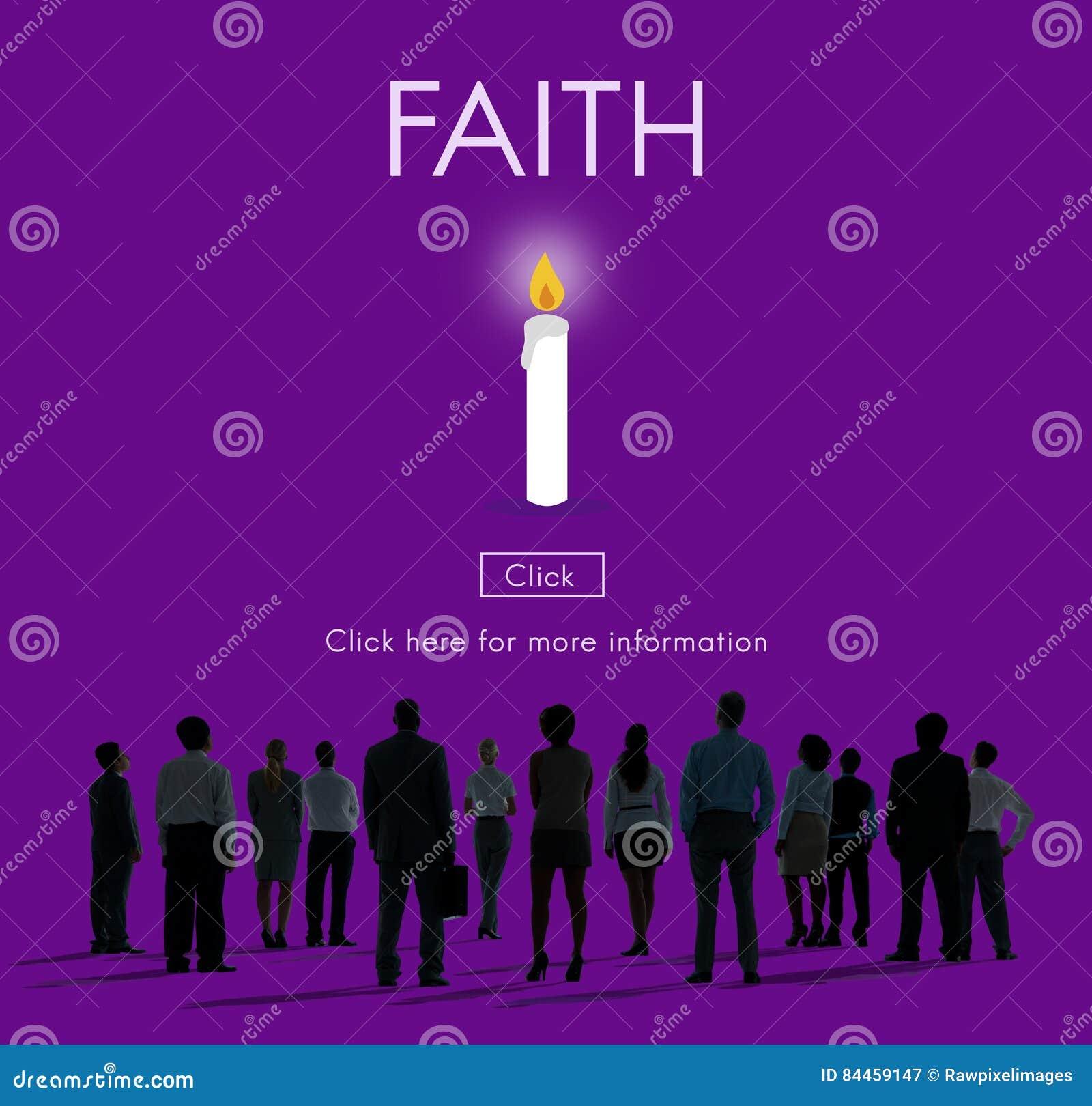 Faith Hope Ideology Loyalty Religion Belief Believe Concept
