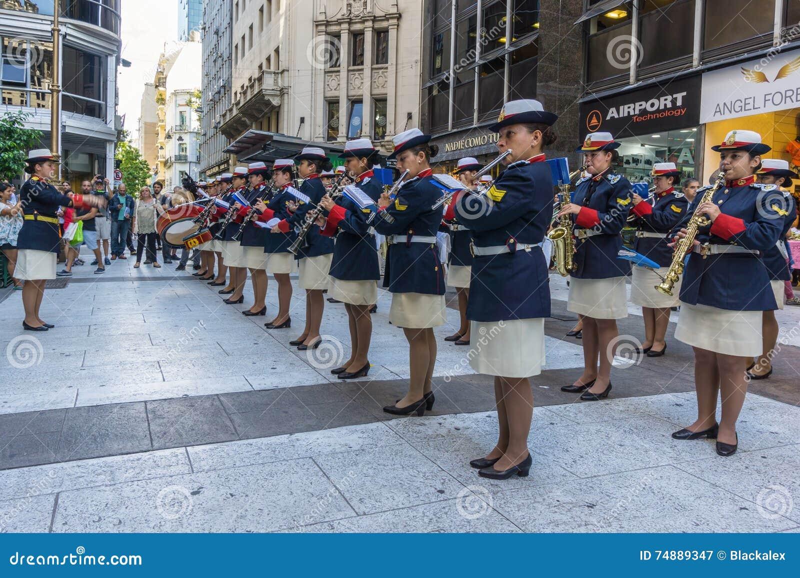 Faixa do musical da marinha de Argentina