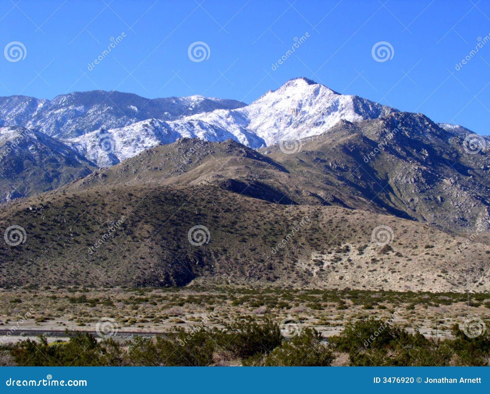 Fajne chrupiąca lotnicze mountain