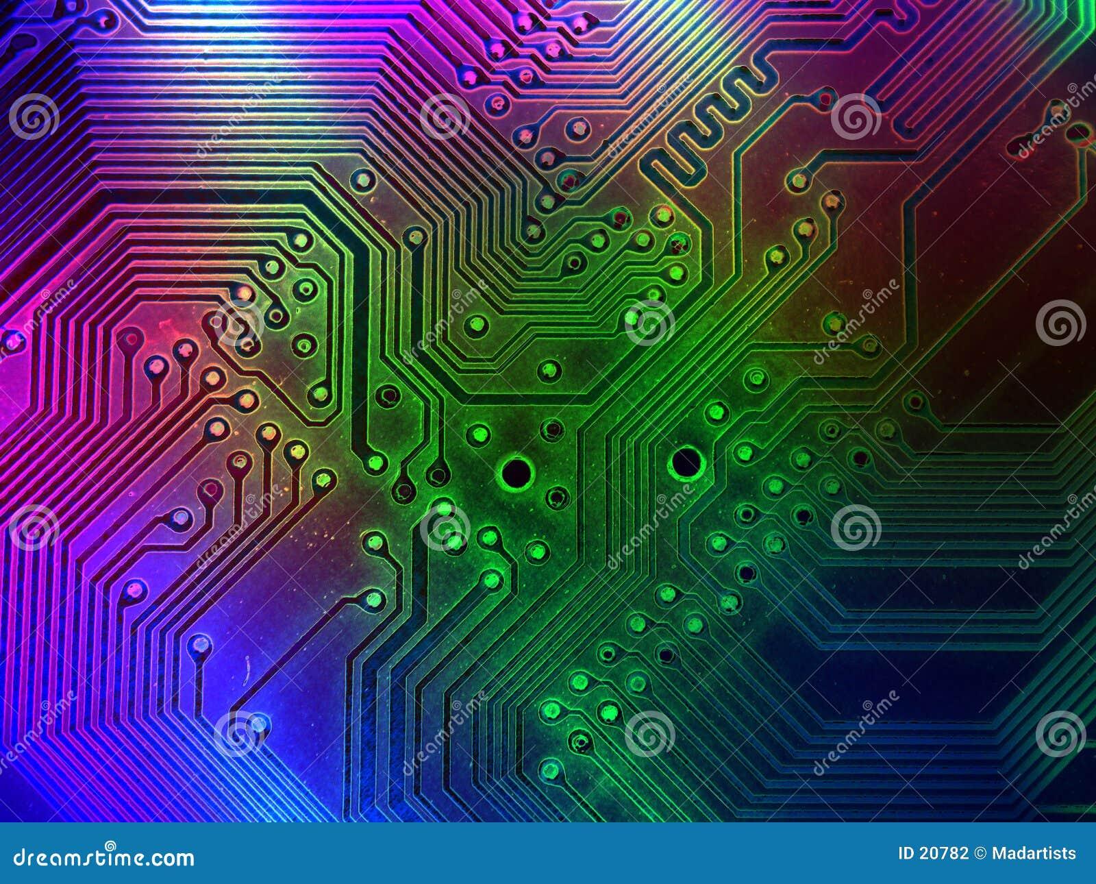 Fajne części komputerowych tło