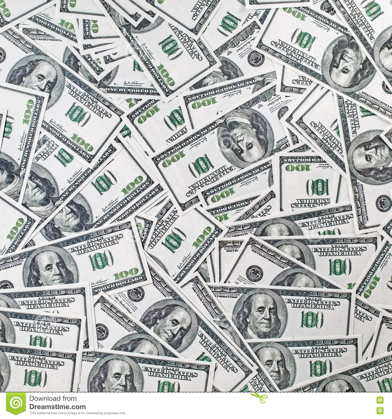 Fake dollars background stock photo  Image of currency