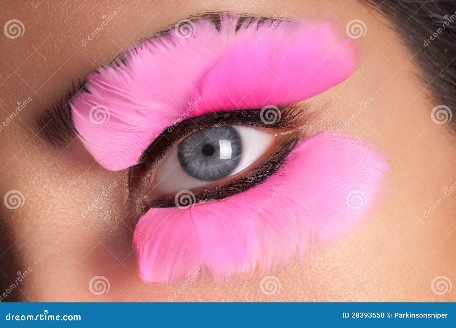 2ced302b762 Fake Eyelashes stock photo. Image of woman, fashion, girl - 28393550
