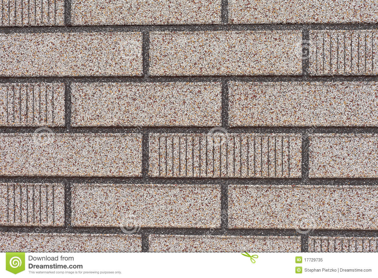 Fake Grey Brick Wall Siding Stock Image Image 17729735