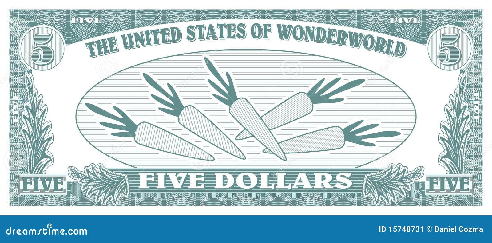 Fake Money Bills Template Fake money