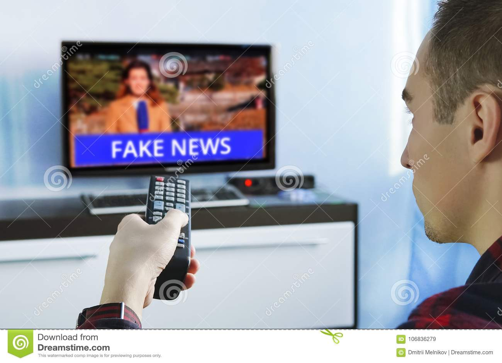 Fake News Propaganda HOAX Political TV Internet Social