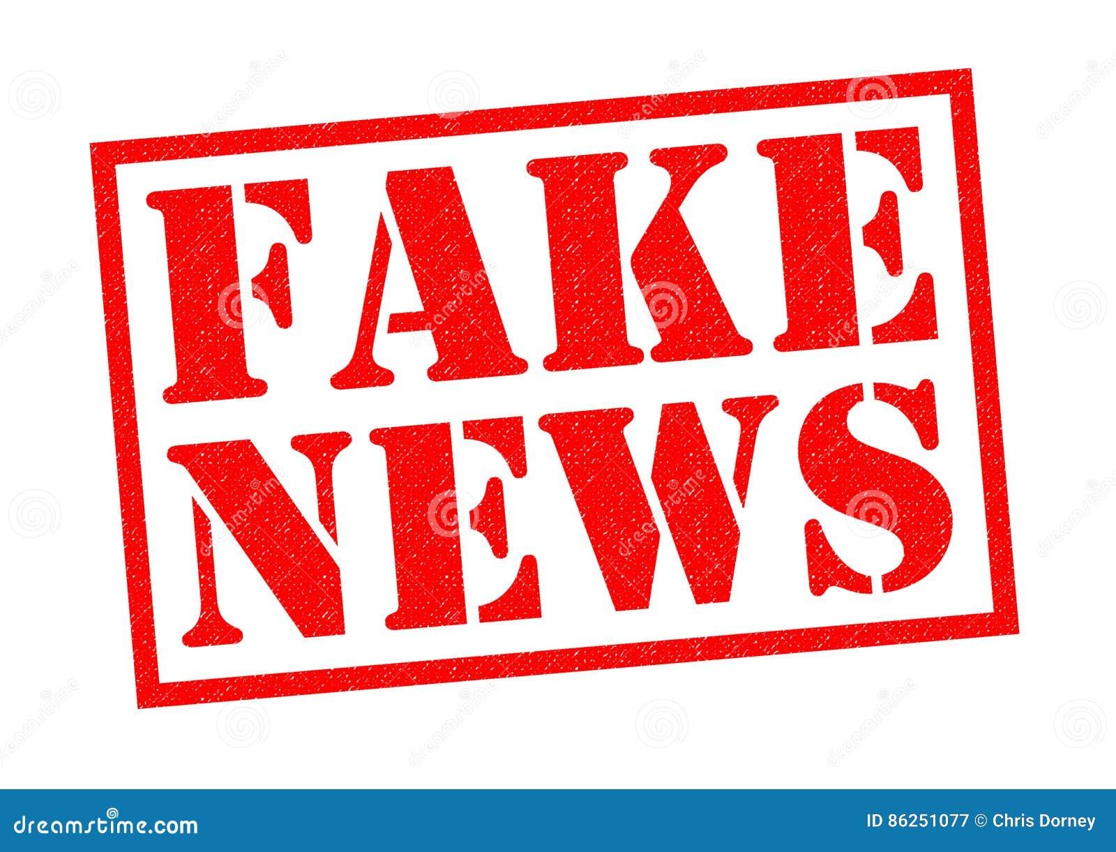 Fake News Stock Illustration Illustration Of Fact Fakery 86251077