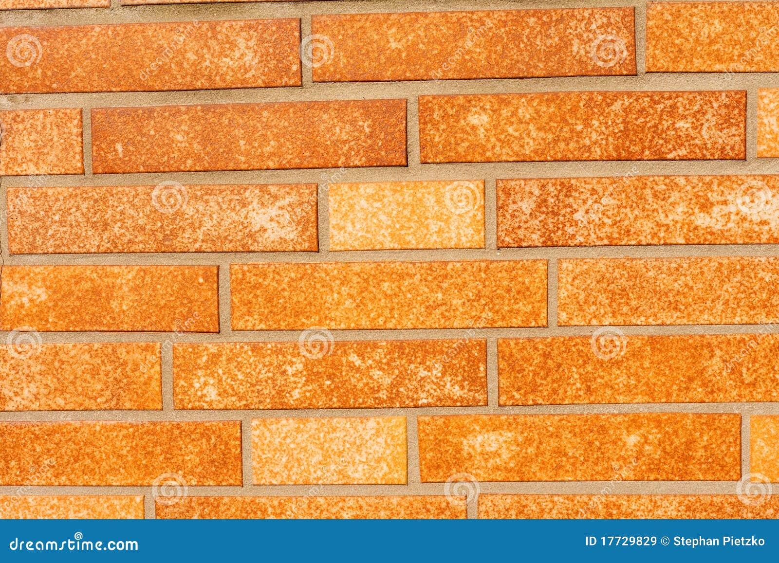 Fake Ocher Brick Wall Siding Royalty Free Stock Images Image 17729829
