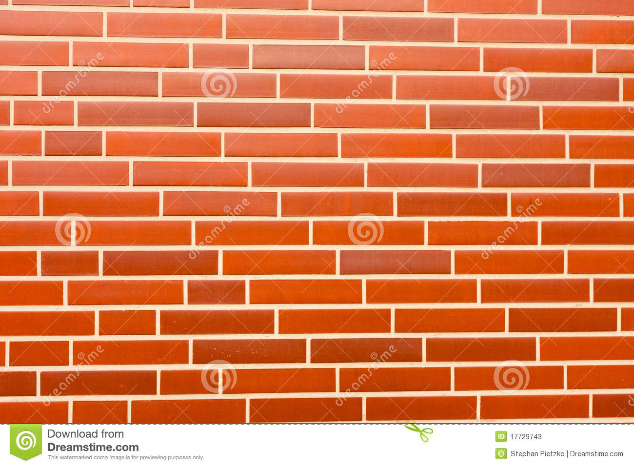 Fake Red Brick Wall Siding Stock Photos Image 17729743