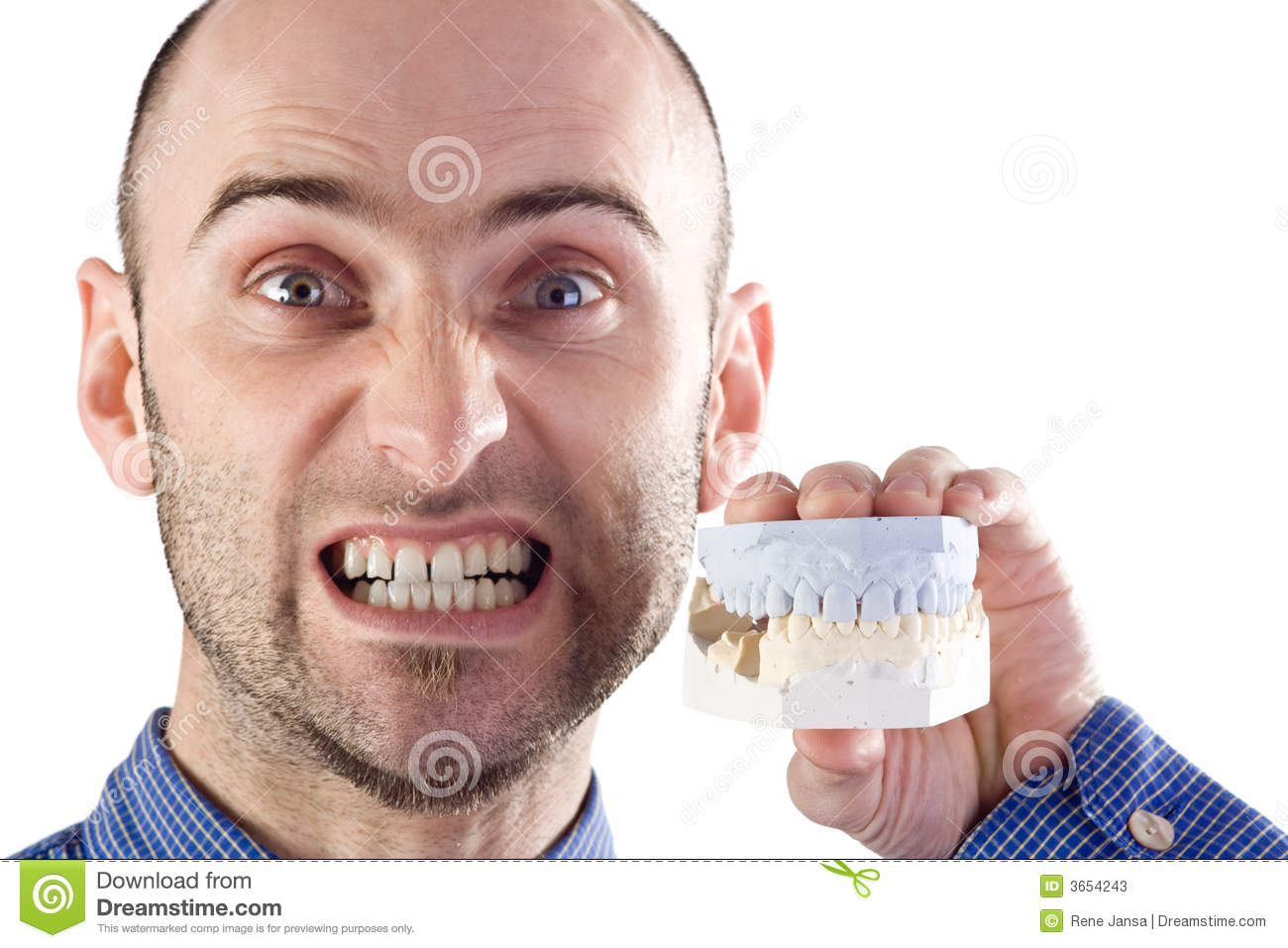 Fake Teeth Stock Photos - Image: 3654243