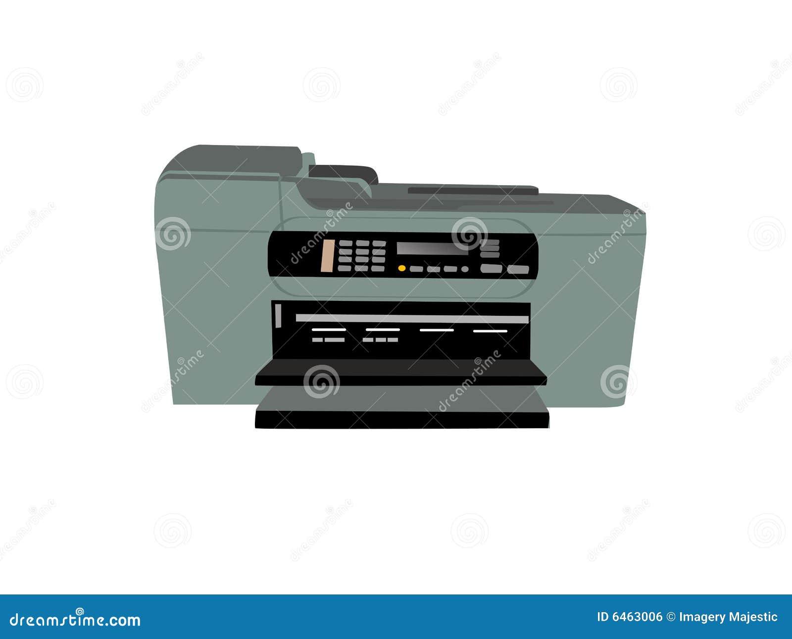 Faks fotokopiarkę