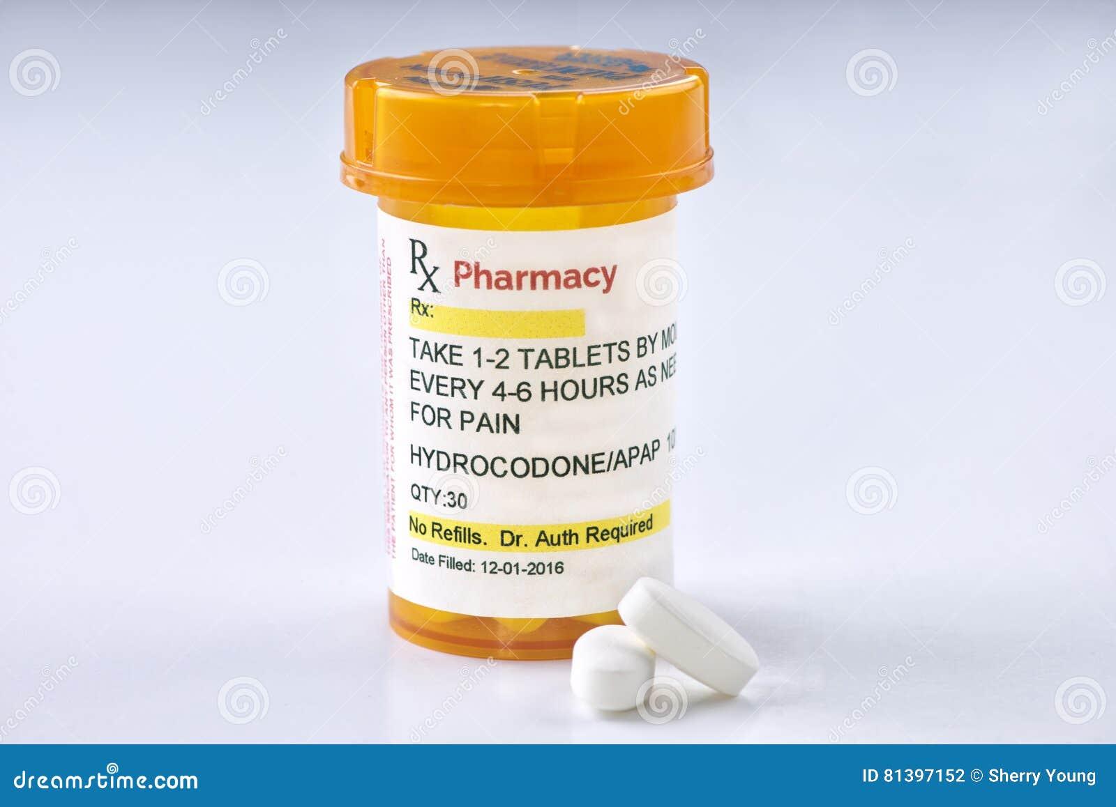 Vicodin Droge