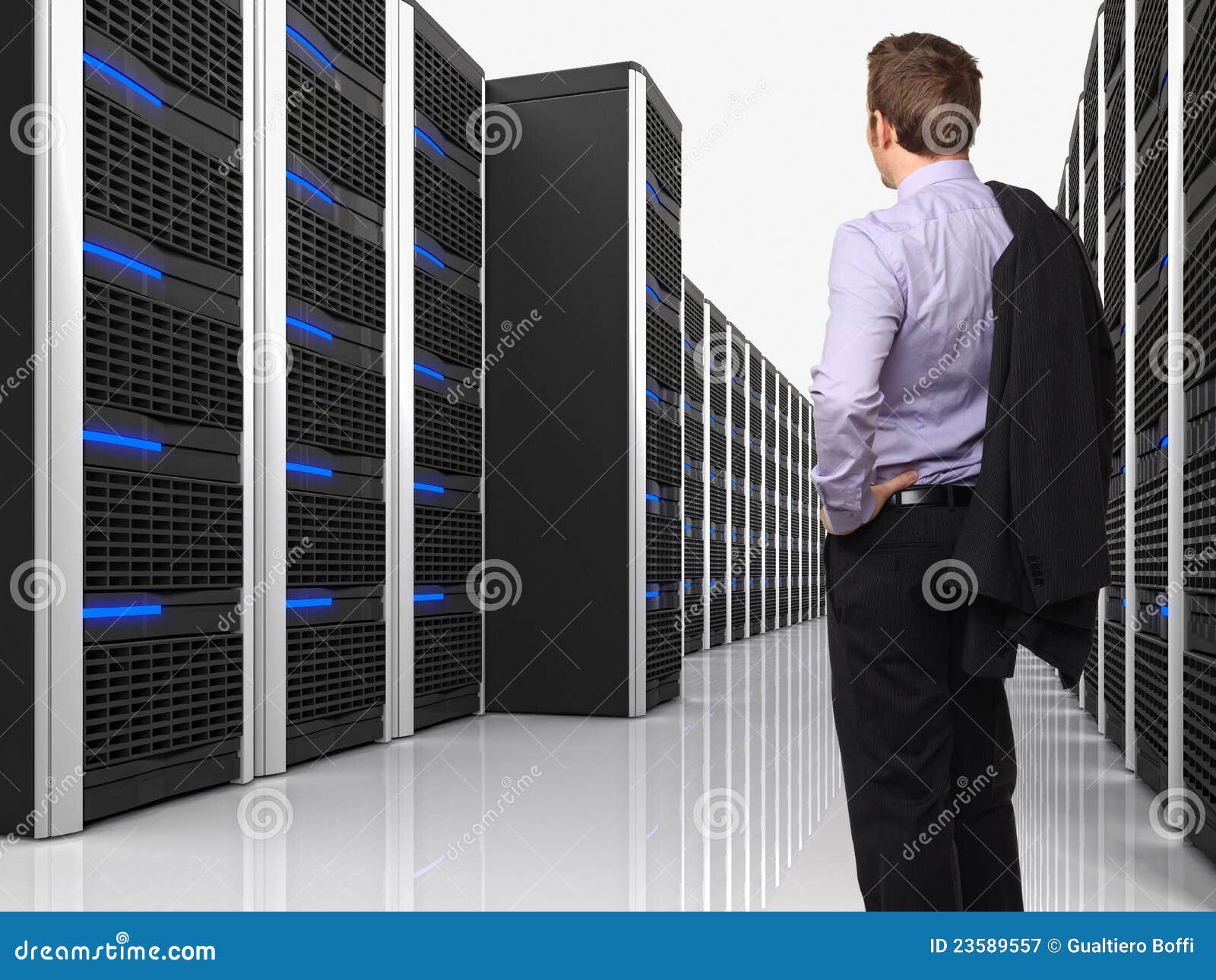 Faktisk server 3d