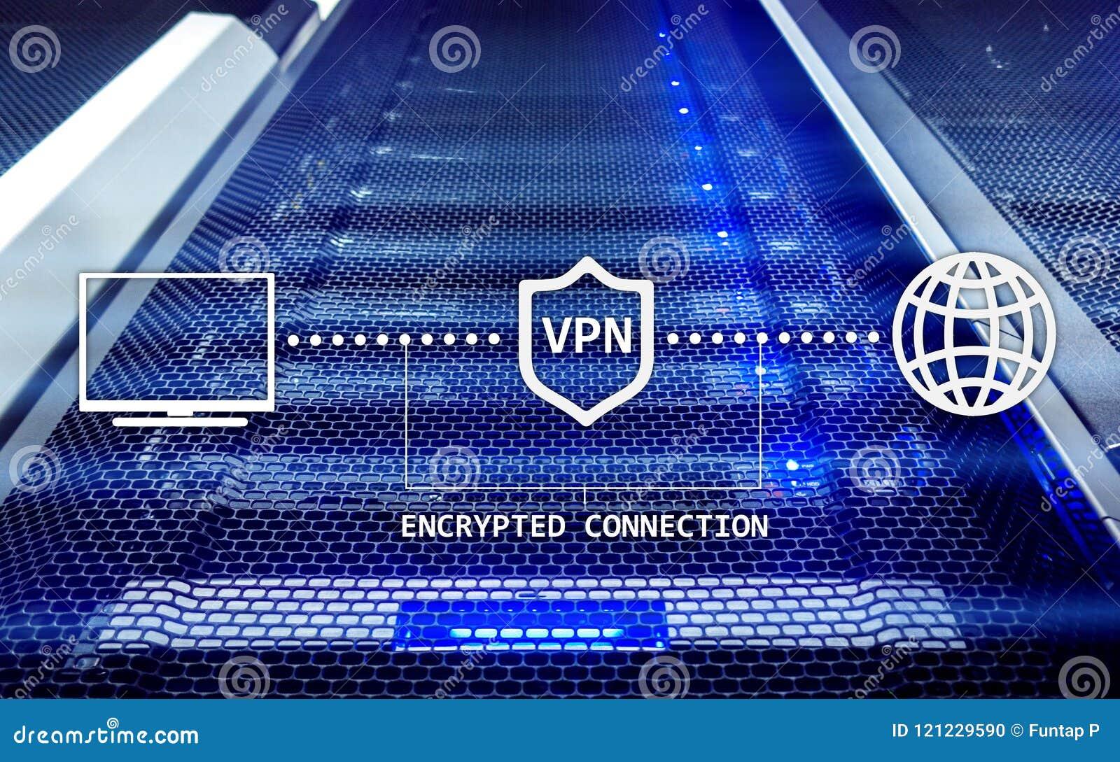 Faktiskt privat nätverk, VPN, datakryptering, IP-ersättning