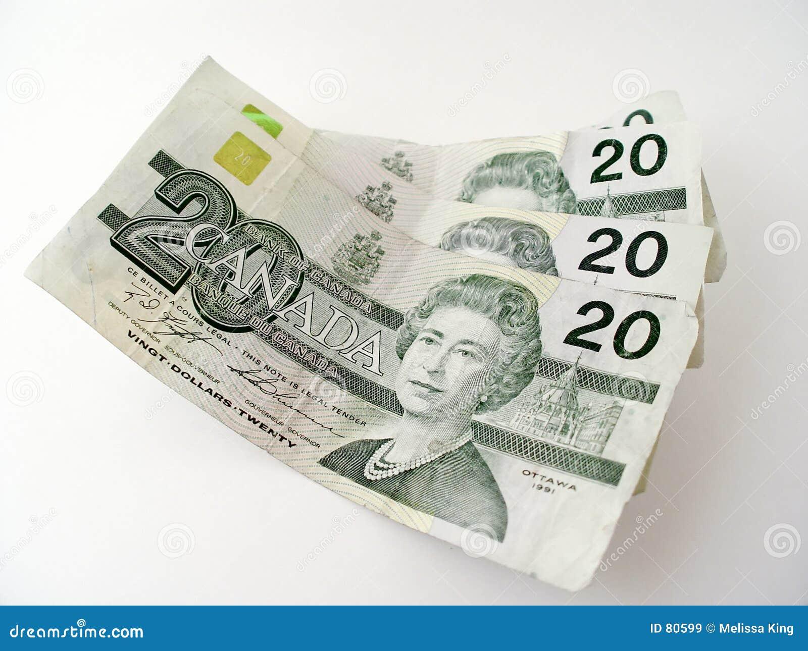 Fakturerar dollar tjugo
