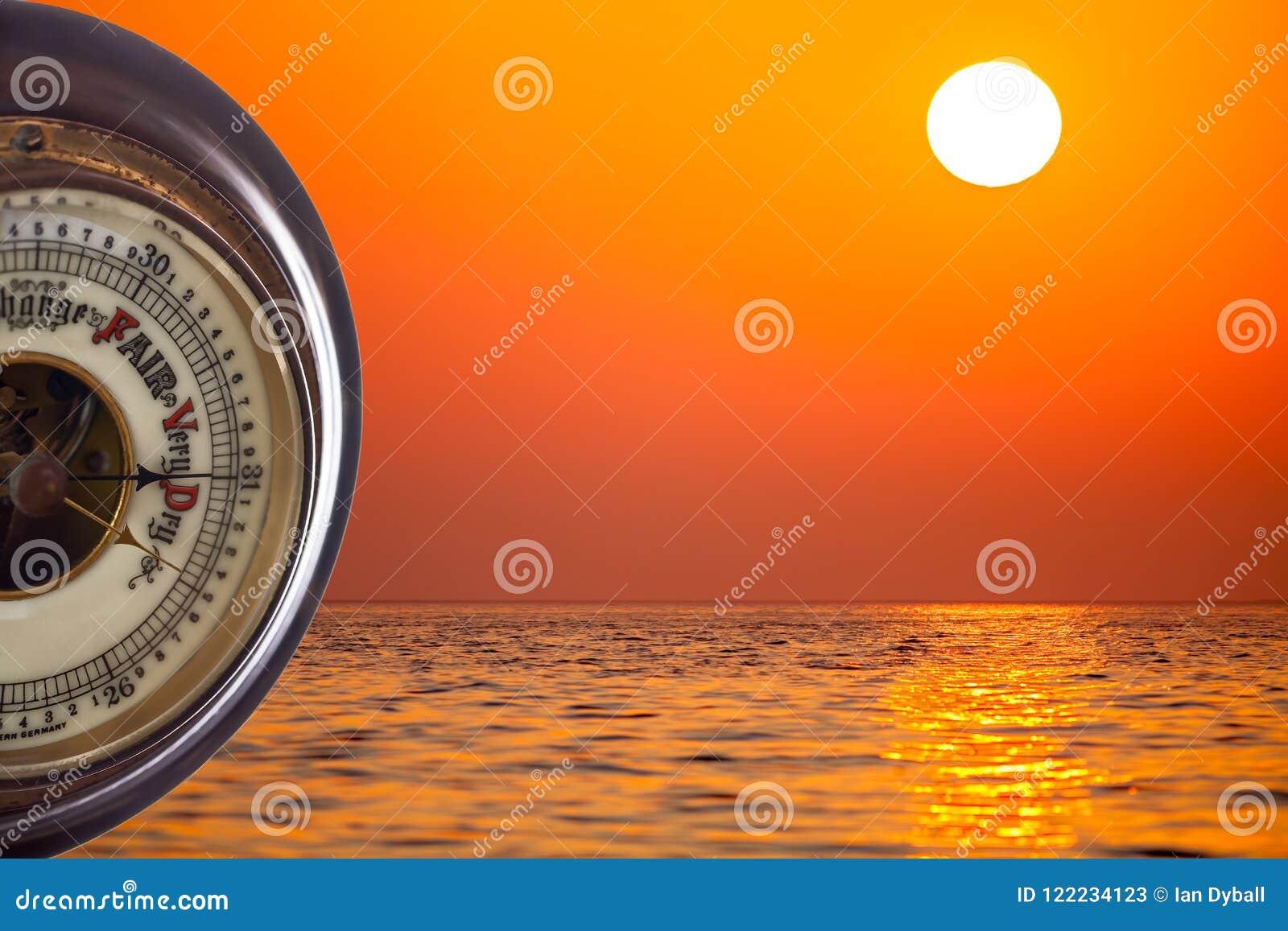 Fala Upałów Barometryczna prognozowanie bardzo sucha pogoda przeciw zwrotnikowi