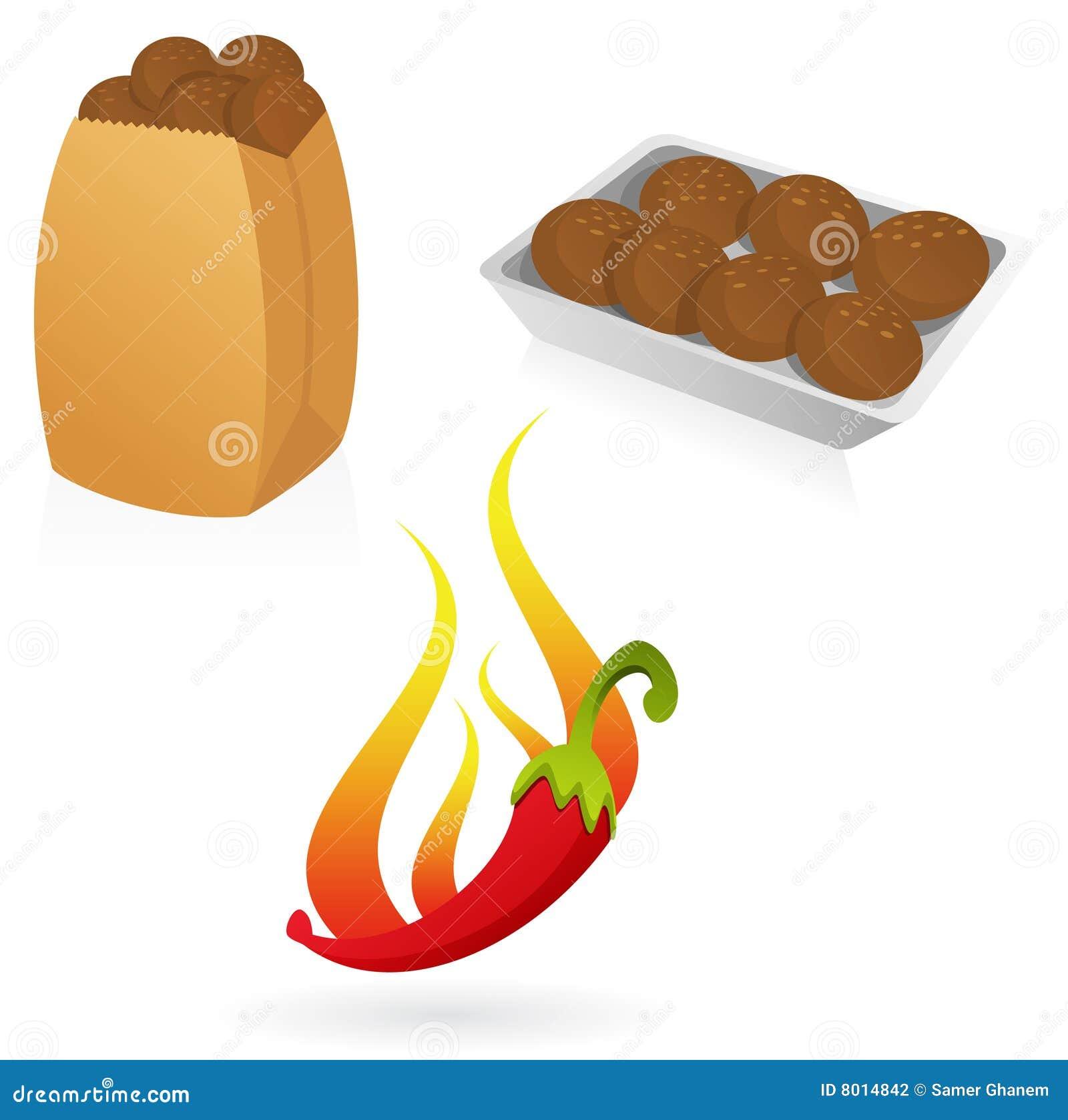 Falafel Stock Photography - Image: 8014842 Falafel Clipart